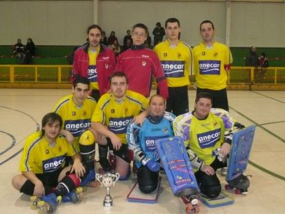 SUBCAMPEON COPA C.D. SAN PIO X - HOCKEY PATINES