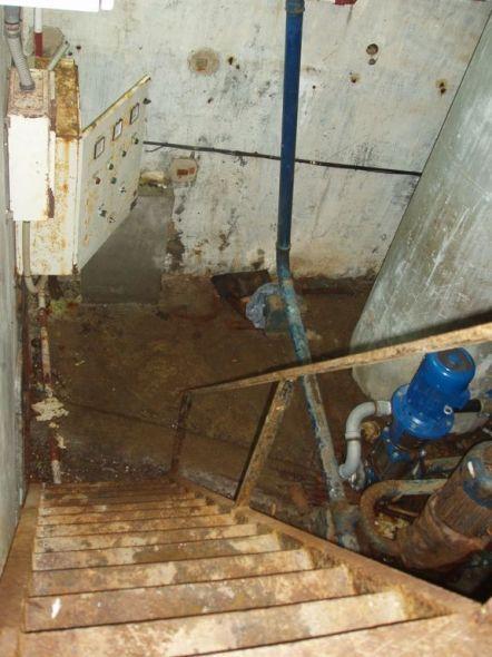 cuarto de bombas de agua tercermundista