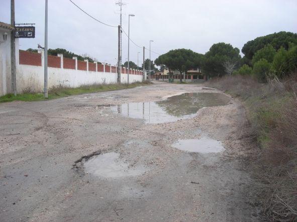 calle urbana de Tudela de Duero