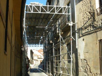 Calle de San Valentin en Segovia