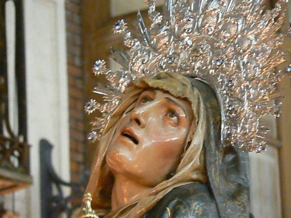 Resultado de imagen de virgen de las angustias de valladolid