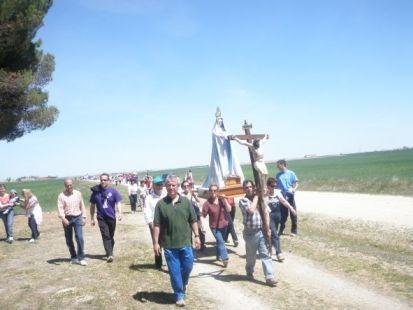 procesion al pinar