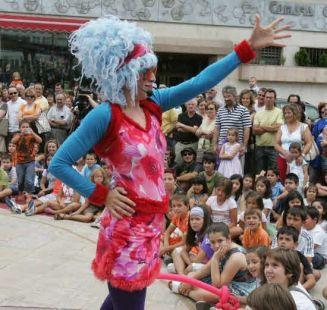 Teatro de calle en Palencia