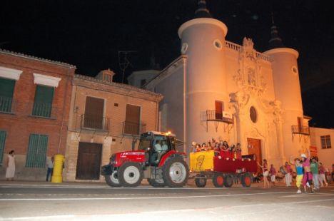 Tractor Party 2009. Rueda.