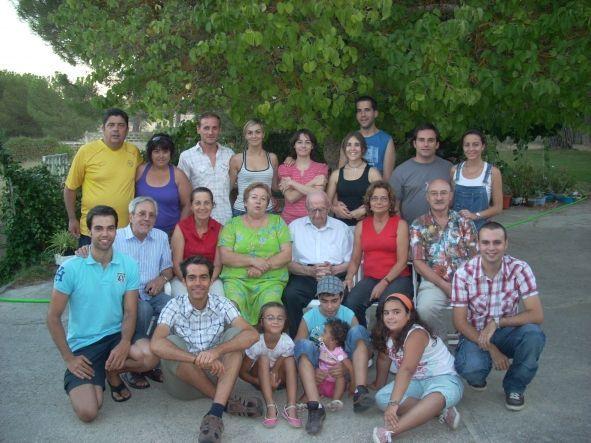 Cumpleaños centenario de Lesmes de la Calle Benito