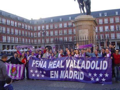 Peña Real Valladolid en Madrid