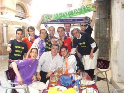 Frente Pinguino - Siguiendo al Pucela en Sevilla