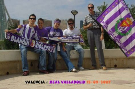 Peña Real Valladolid en Barcelona On Tour Valencia