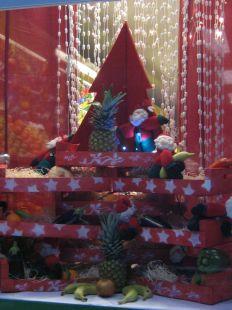 Las frutas tambien celebramos la Navidad