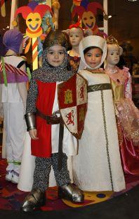 Mario y Ana como El Cid y doña Jimena