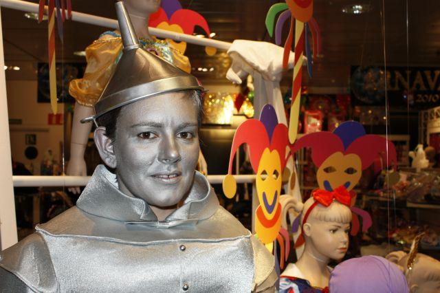 El hombre de hojalata del Mago de Oz por Marta Sanz.