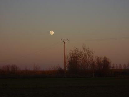 Luna llena en  Santervás de Campos