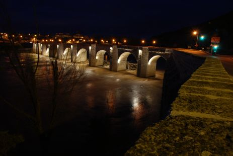 Puente romano de Cabezon de Pisuerga