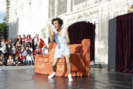 Circo-teatro en Portugalete