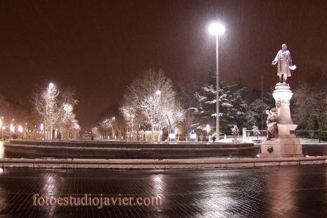 Plaza Zorrila,no en verano...
