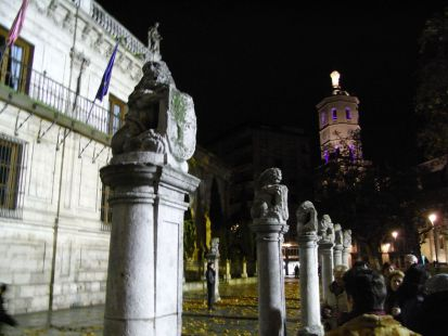 Paseando por Valladolid ( Noches de luz )