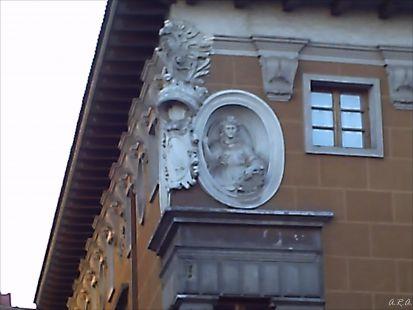 Detalle de una casa de Valladolid