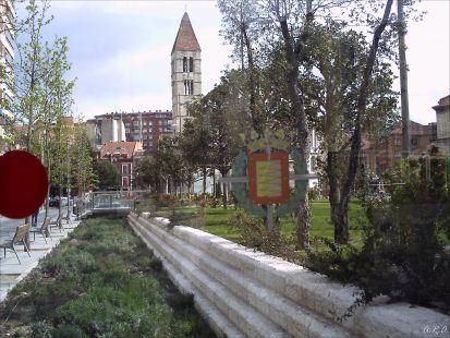 Escudo y monumento de Valladolid