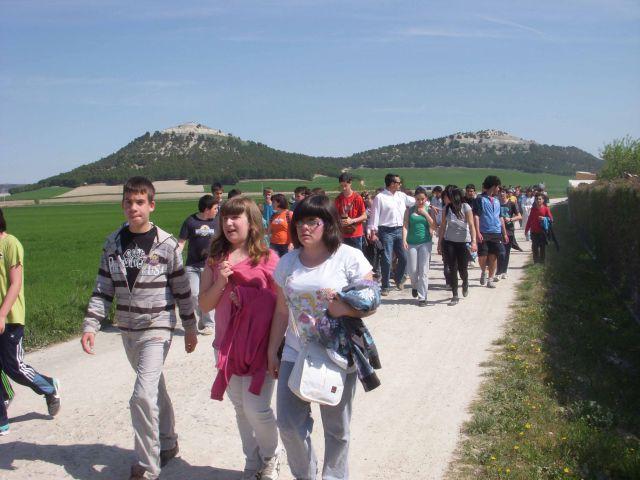 marcha solidaria de los alumnos del ies r o duero fotos